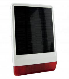 Z-Wave Plus Popp Solar Outdoor Siren