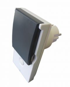 Z-Wave Plus Popp Wall Plug Switch Outdoor