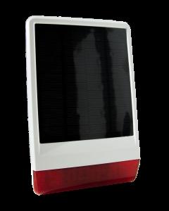 Z-Wave Plus Popp Solar Outdoor Siren