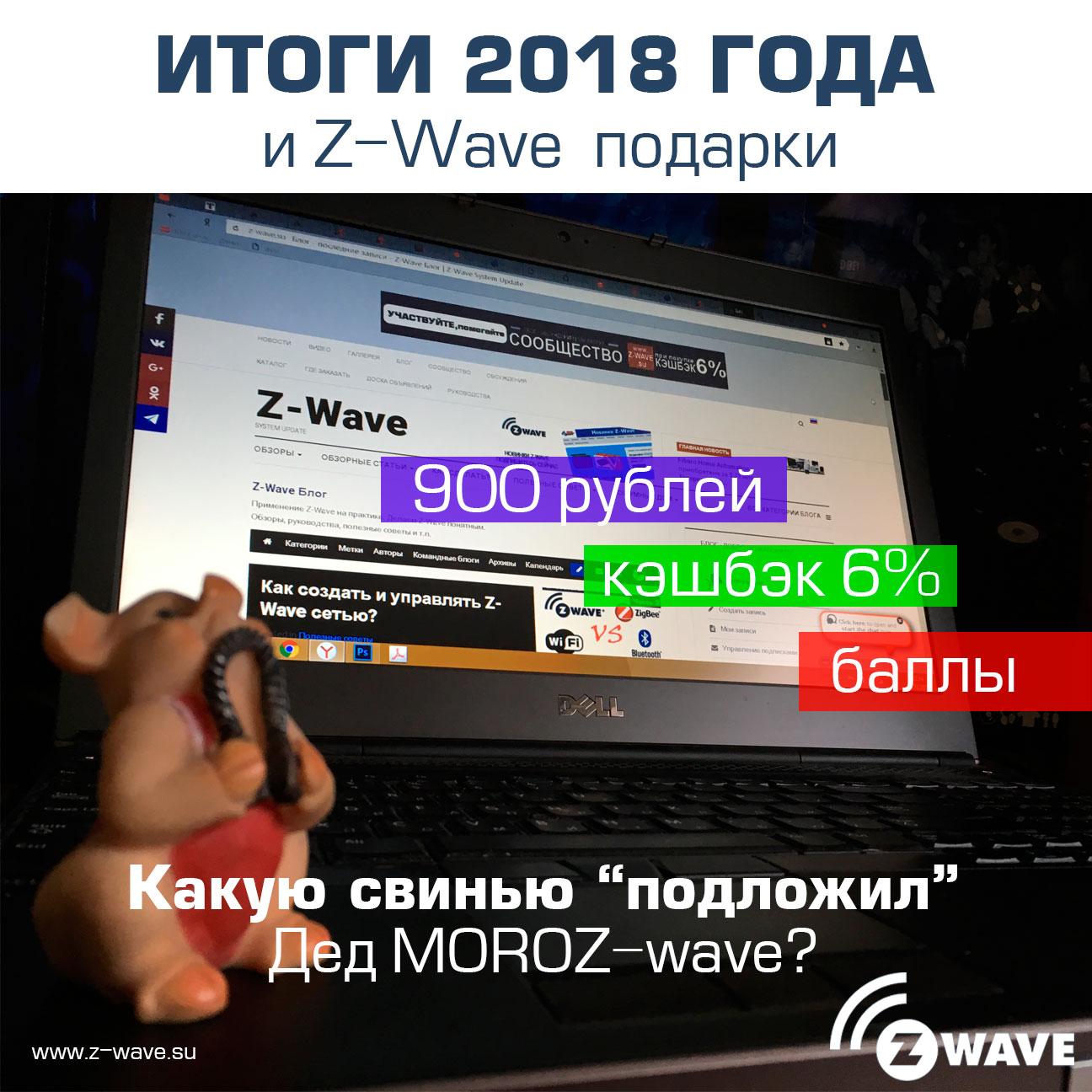 """Итоги 2018 года. Какую свинью """"подложил"""" Дед MOROZ-wave!"""